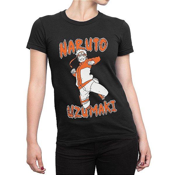 Camiseta Feminina Uzumaki