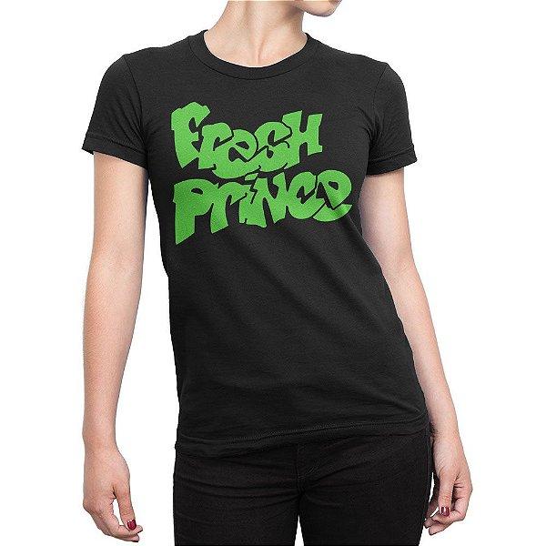Camiseta Fresh Prince Feminina
