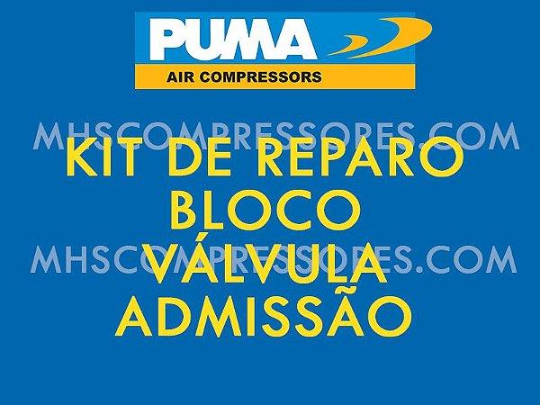 148.063 KIT DE REPARO BLOCO VÁLVULA ADMISSÃOPUMA SYSTEM