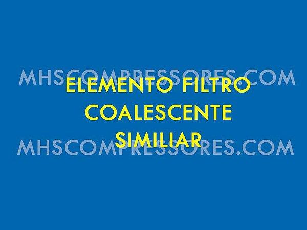 ELEMENTO PÓS FILTRO COALESCENTE SCHULZ MODELO EFS 0125 H - 007.0272-0 SIMILAR