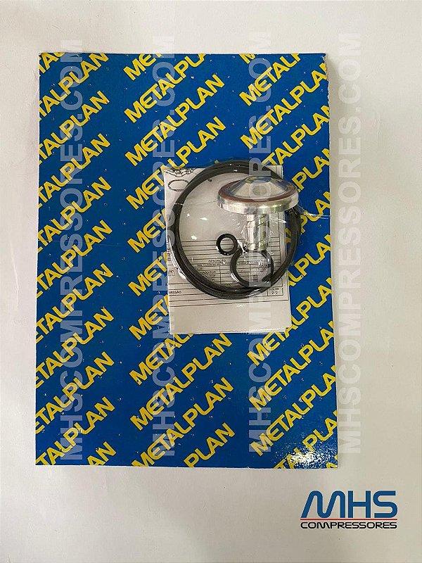 KIT REPOSIÇÃO VALVULA ADMISSÃO METALPLAN 4,6,10 HP 3060595