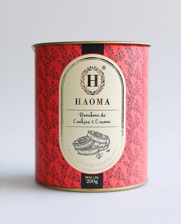 Bombom de Chocolate Belga - Cookies & Cream