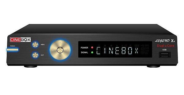 CINEBOX LEGEND X2 DUAL CORE - SKS E IKS, ACM, WiFi