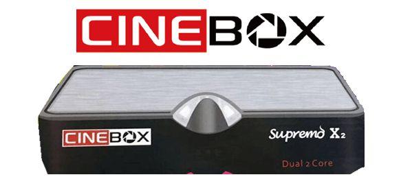 Cinebox Supremo X2 ACM, IKS, SKS - Lançamento Cinebox