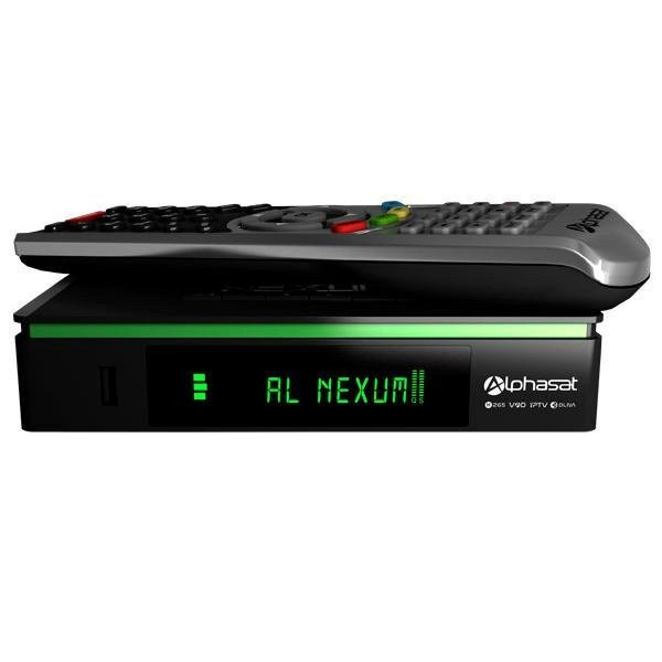 alphasat nexum h265 edition kvm iptv 3 tunner