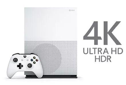 Xbox One S 1tb Slim Microsoft 4k Branco