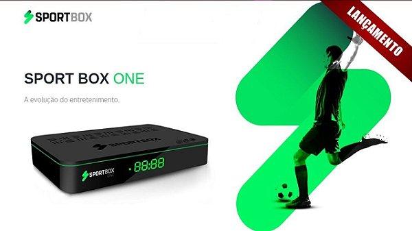 Receptor Sportbox One 4K Full HD Wi-Fi ACM