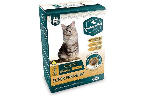 Ração Super Premium - Gatos Adultos Castrados acima de 7 Anos