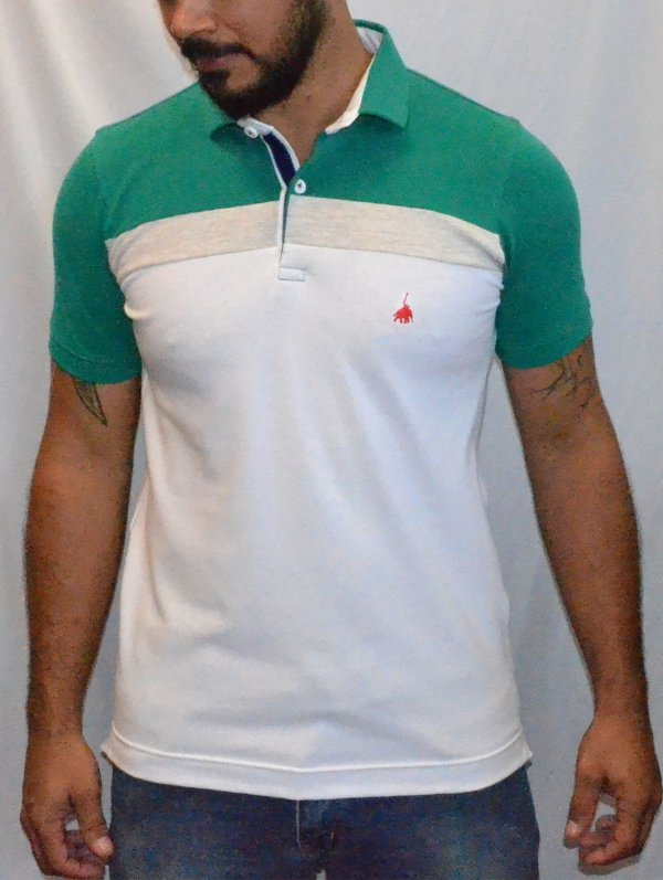 Camisa polo 1ST level Two Collors