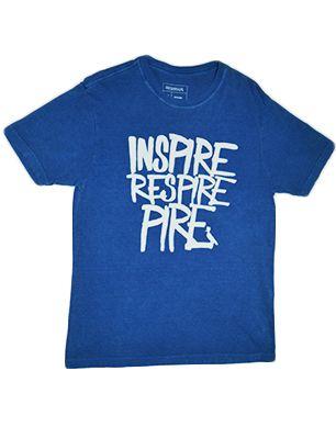 Camiseta Reserva - Azul Estampada