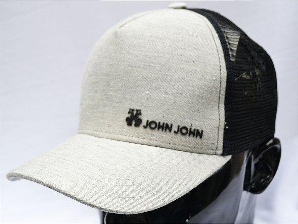 Boné John John- Moletom escrita