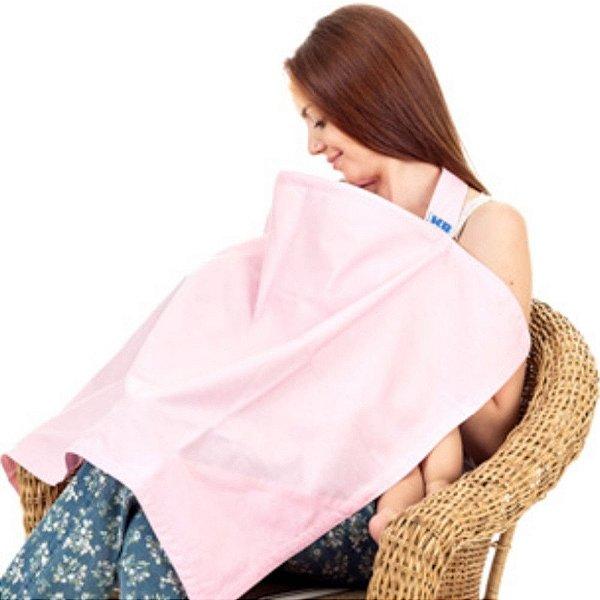 Capa para Amamentação Rosa - KaBaby - 12001R