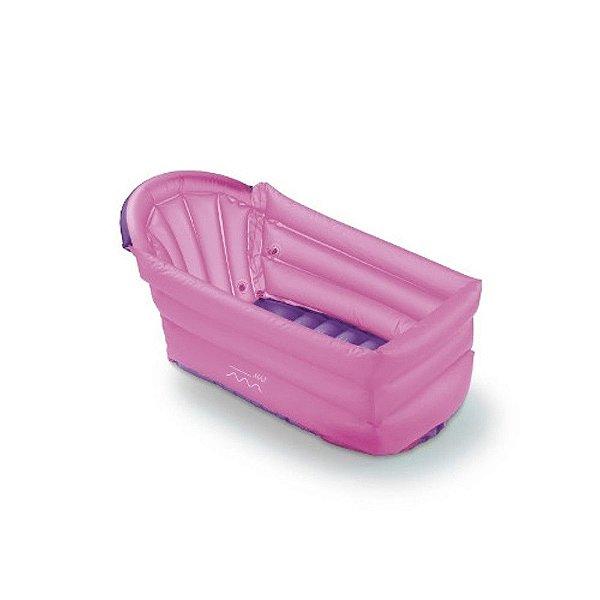 Banheira Inflável Bath Buddy Rosa Multikids Baby - BB206