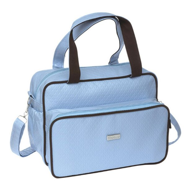 Bolsa Maternidade Média Masculina Azul - Pimpolho - 7675