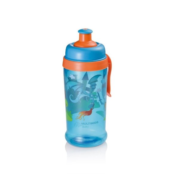 Copo Squeeze Grow Azul 36M+ Multikids Baby - BB031