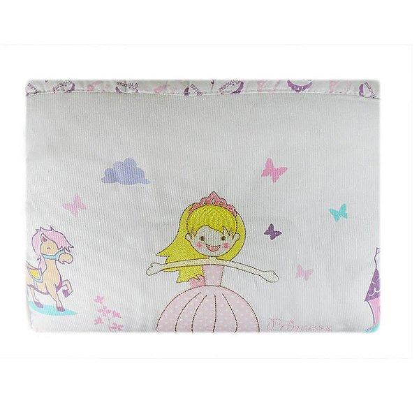 Edredom Reininho Princess Rosa 85 cm x 1,3 m - Minasrey - 3613