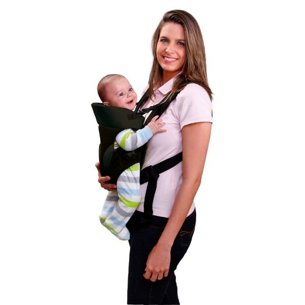 Canguru para Bebê Baby Safe Preto - Multikids Baby - BB014