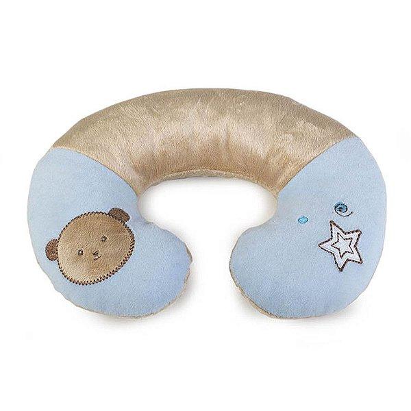 Suporte Pequeno para Pescoço Ursinho Azul - KaBaby - 14003A