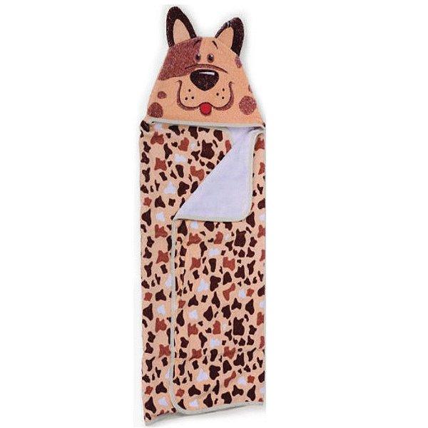 Toalha de Banho Carinhas Cachorro Dog - Minasrey - 3522