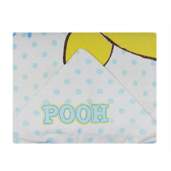 Toalha Felpa Pooh 70 cm x 90 cm - Minasrey - 3895