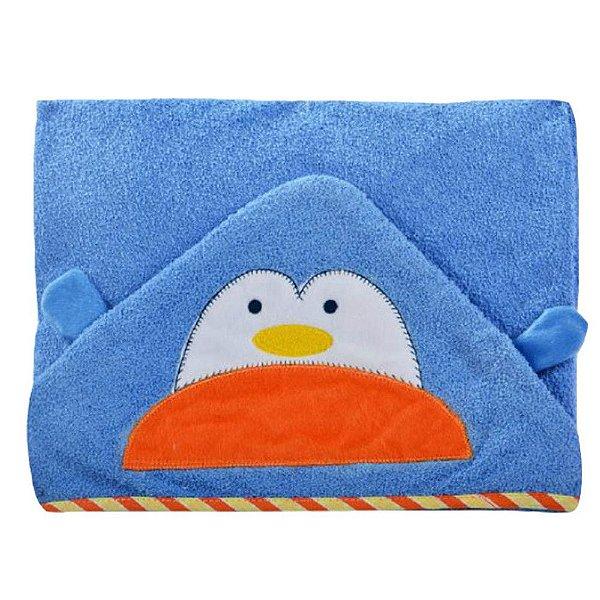 Toalha de Banho de Pinguim Carinhas - Minasrey - 1556