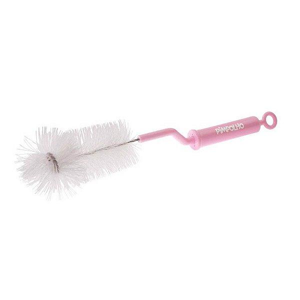 Escova para Limpeza de Mamadeira Rosa - Pimpolho - 7556