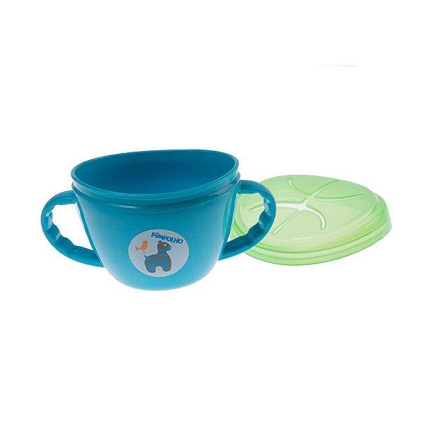 Porta Snack Masculino Azul e Verde - Pimpolho - 7829