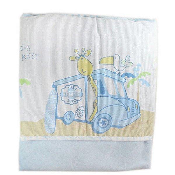 Cobertor Azul Carícia - Minasrey 3319