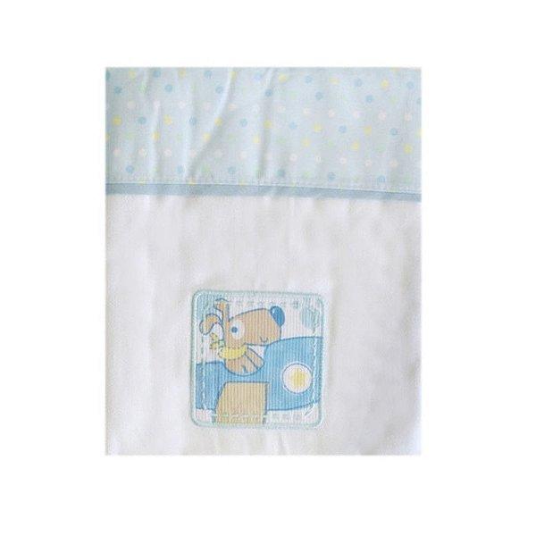 Manta Cueiro Azul Carícia Baby – Minasrey – 3334