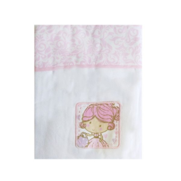 Manta Cueiro Rosa Carícia Baby – Minasrey – 3333