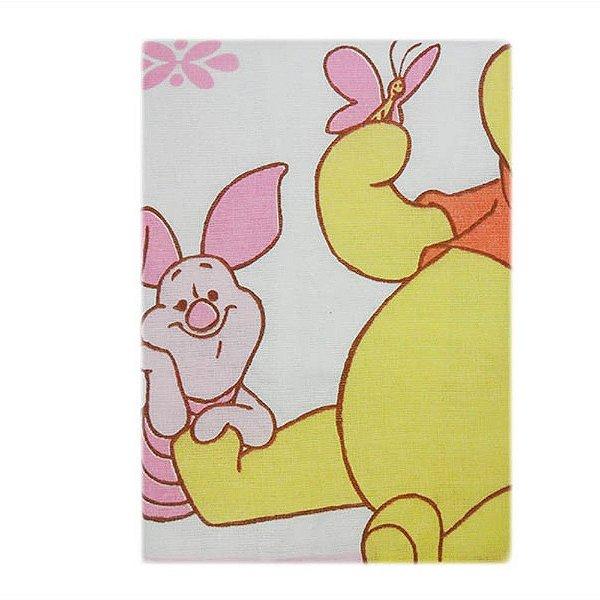 Fronha Pooh 28 cm x 40 cm Pooh Rosa - Minasrey 3902