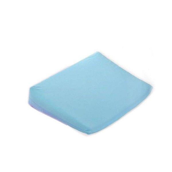 Travesseiro Rampa Anti-Refluxo Carícia Baby 36 cm x 36 cm x 8 cm - Azul - Minasrey - 1028