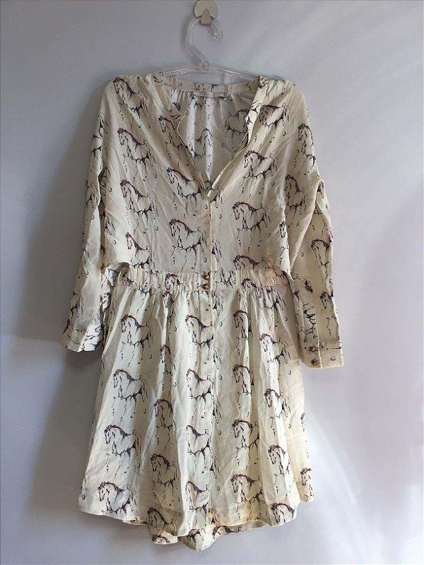 Vestido 100% seda (36) - Animale