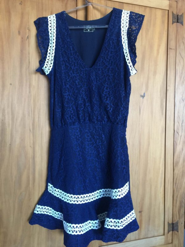 Vestido renda (P) - Lore