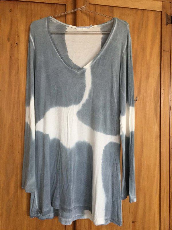 Blusa manga longa tie dye (M) - Le Lis Blanc