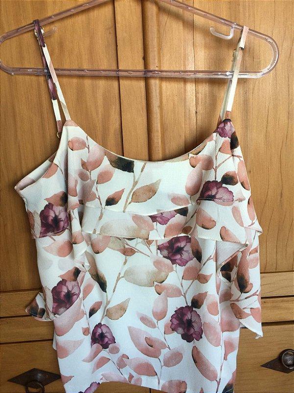 Camiseta estampada (M) - Chocoleite NOVA