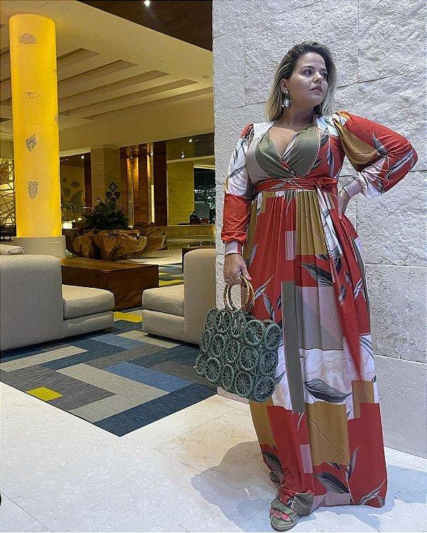 Vestido longo (M) Danielle Araújo