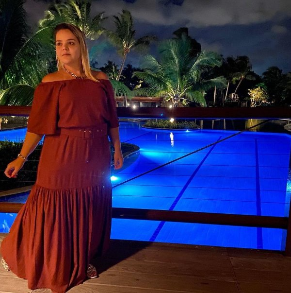 Vestido longo (G) - Vanessa Madsen