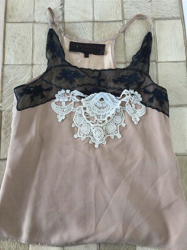 Blusa alça de seda (P) - Leyendercker