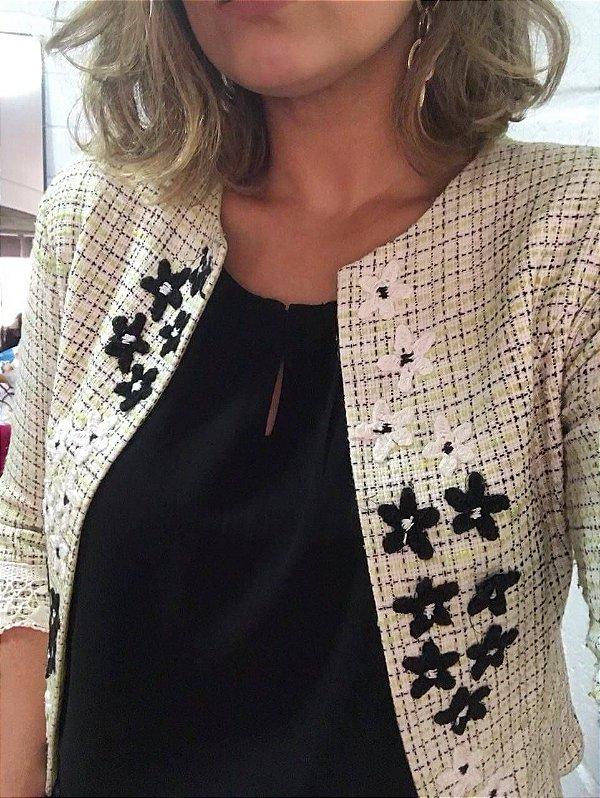 Tweed bordado (P) - Drosófila