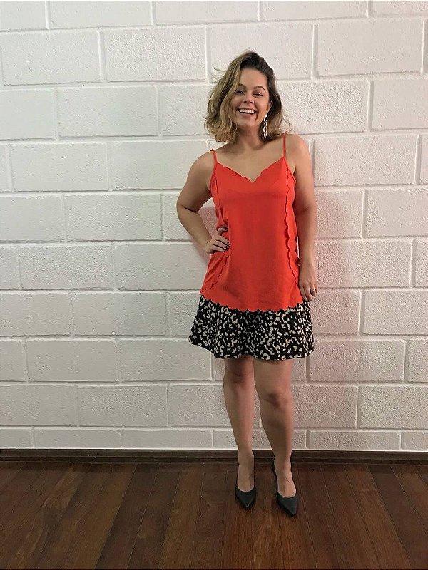 Camiseta alaranjada (M) - Maria filó