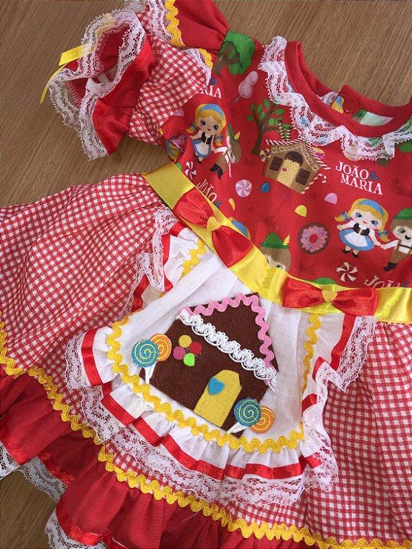 Vestido festa junina (1 ano)