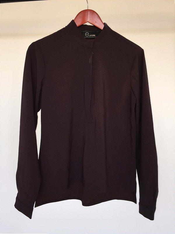 Camisa vinho (P) - e.Store