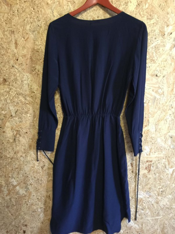 Vestido midi azul (36) - Le Lis Blanc