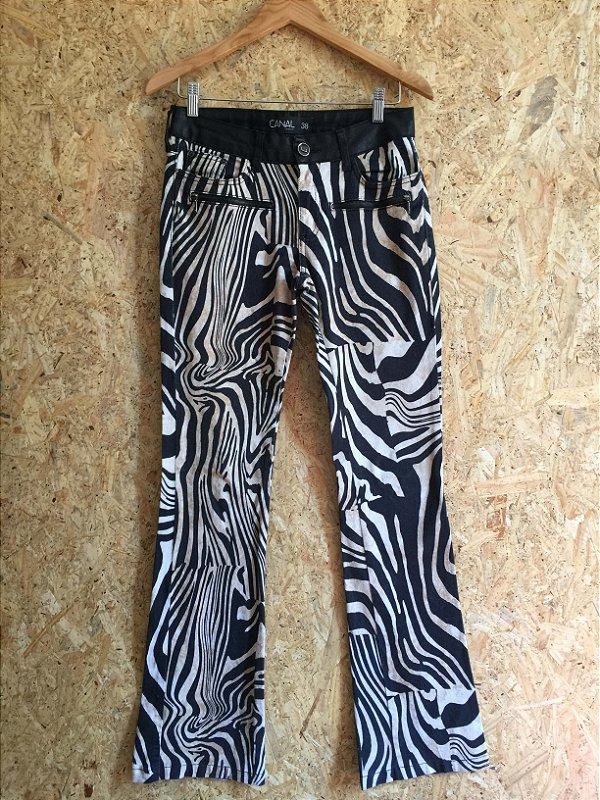 Calça zebra (38) - Canal
