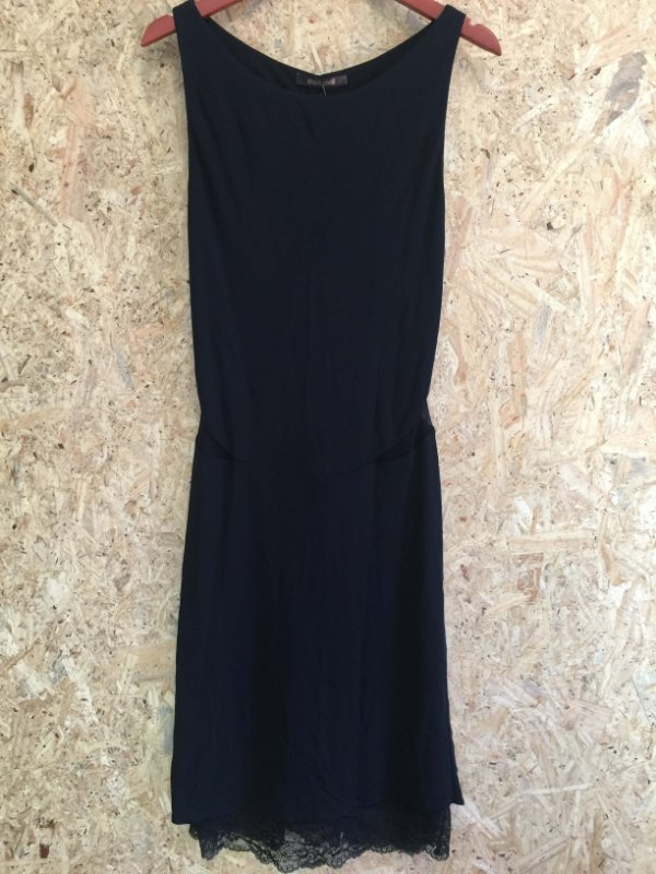 Vestido preto detalhe transparência (G) - Roberto Cavalli