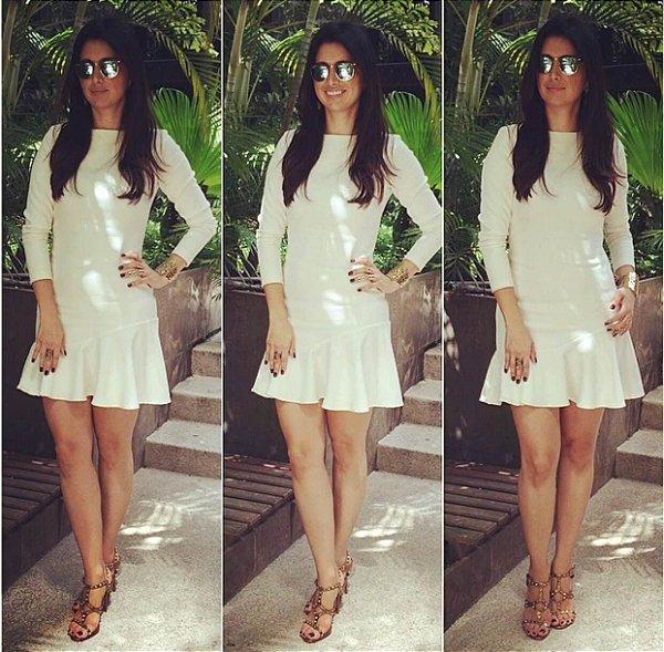 Vestido off white - Isabela Globbi