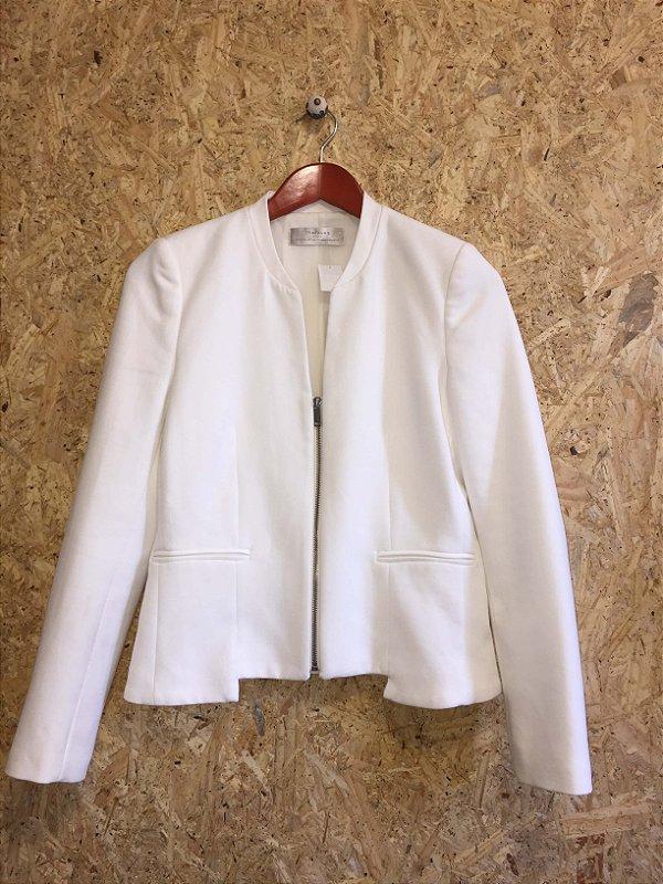 Blazer branco (M) - Zara