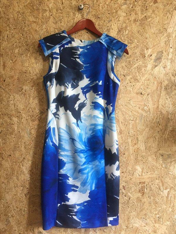 Vestido neoprene (M) - Zara