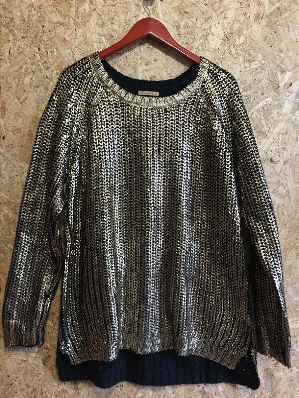Blusa lã dourada (G)